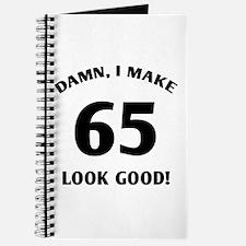 Sexy 65th Birthday Gift Journal