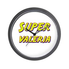 Super valeria Wall Clock