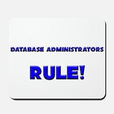 Database Administrators Rule! Mousepad