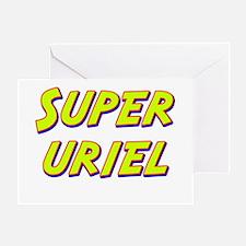 Super uriel Greeting Card