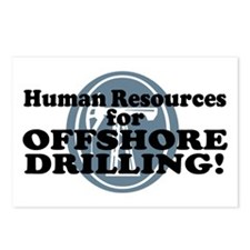 Human Resources For Offshore Drilling Postcards (P