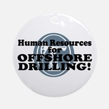 Human Resources For Offshore Drilling Ornament (Ro