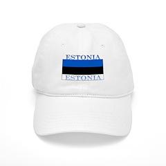 Estonia Estonian Flag Baseball Cap