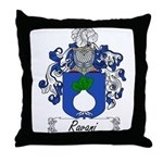 Ravani Family Crest Throw Pillow