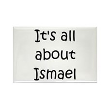 Funny Ismael Rectangle Magnet
