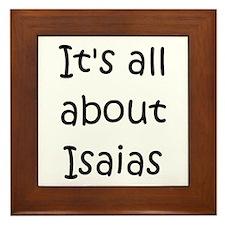 Unique Isaias Framed Tile