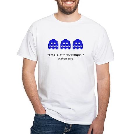 Ama a tus Enemigos (White T-Shirt)