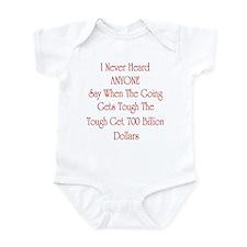 Cute Bailout Infant Bodysuit