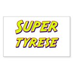 Super tyrese Rectangle Sticker