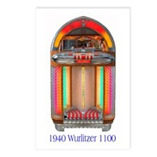 "1100 ""Bullet"" Postcards (Package of 8)"