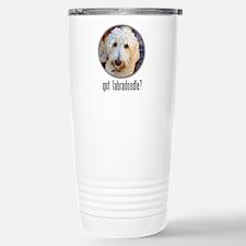 got labradoodle? Thermos Mug
