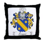Reggio Family Crest Throw Pillow