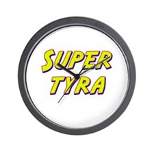 Super tyra Wall Clock