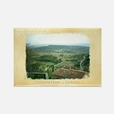 Rectangle Magnet - Provence from Gordes