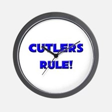 Cutlers Rule! Wall Clock