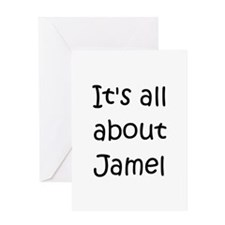 Unique Jamel Greeting Card