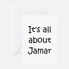 Jamar name Greeting Card