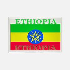Ethiopia Ethiopian Flag Rectangle Magnet