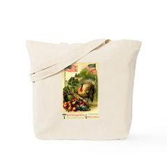 Patriotic Thanksgiving Tote Bag