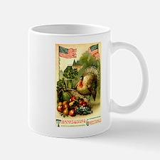 Patriotic Thanksgiving Mug