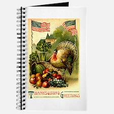 Patriotic Thanksgiving Journal