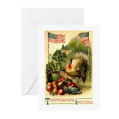 Patriotic Thanksgiving Greeting Cards (Pk of 10)