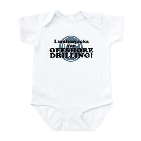 Lumberjacks For Offshore Drilling Infant Bodysuit