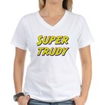 Super trudy Women's V-Neck T-Shirt