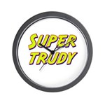 Super trudy Wall Clock