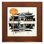 Call from Tokyo   Framed Tile