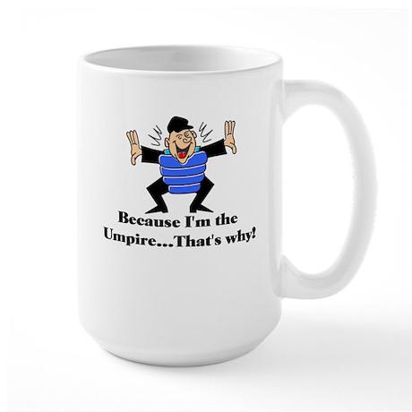 Umpire Large Mug