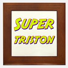 Super triston Framed Tile