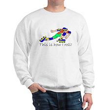 Rollerblading Sweatshirt