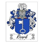 Ricardi Family Crest Small Poster