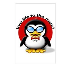 Pop The Party Penguin Postcards (Package of 8)