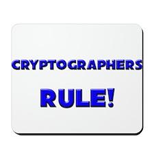 Cryptographers Rule! Mousepad