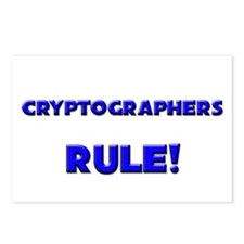 Cryptographers Rule! Postcards (Package of 8)