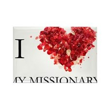 Cute Lds mission Rectangle Magnet (10 pack)