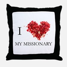 Cute Lds Throw Pillow