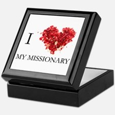 Cute Missionary Keepsake Box