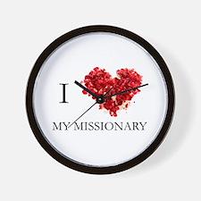 Cute Missionary Wall Clock