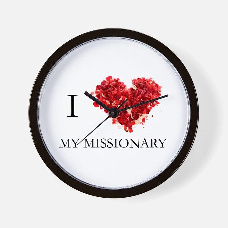Cute Lds mission Wall Clock