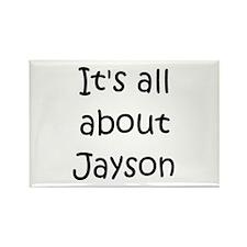 Funny Jayson Rectangle Magnet