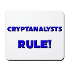Cryptanalysts Rule! Mousepad
