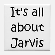 Cute Jarvis Tile Coaster