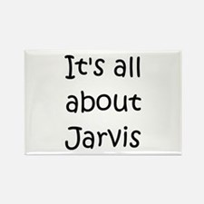 Cute Jarvis Rectangle Magnet