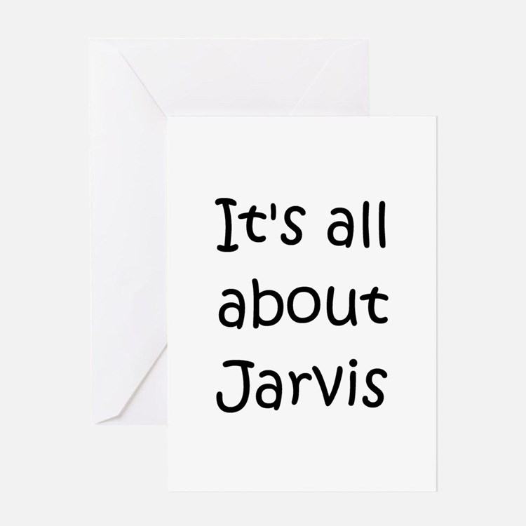 Cute Jarvis Greeting Card