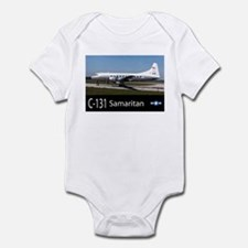 C-131 Samaritan Aircraft Infant Bodysuit