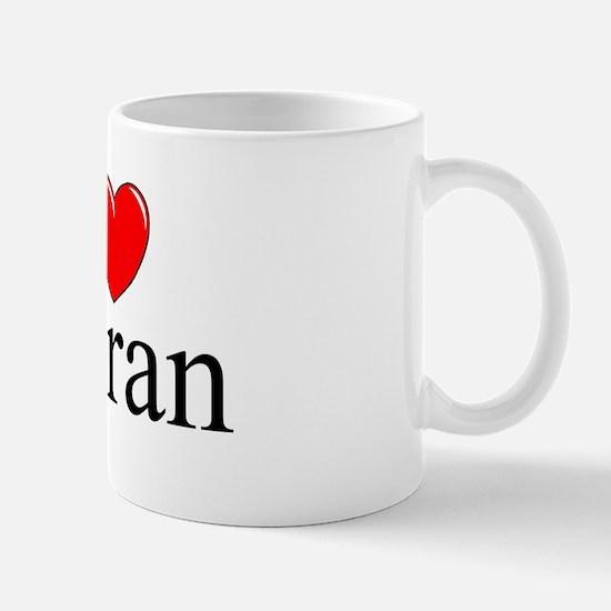 """I Love (Heart) Meran"" Mug"
