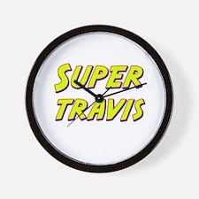 Super travis Wall Clock